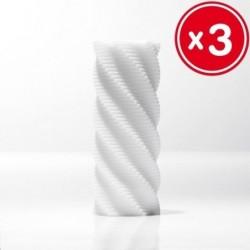 TENGA 3D SPIRAL SCULPTED ECSTASY (3 UNIDADES)