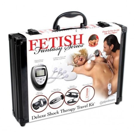 FETISH FANTASY KIT DE VIAJE DELUXE DE SHOCK THERAPY