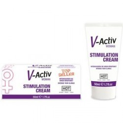 hot v activ crema estimulante femenina
