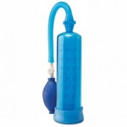 pump worx bomba erección de silicona azul